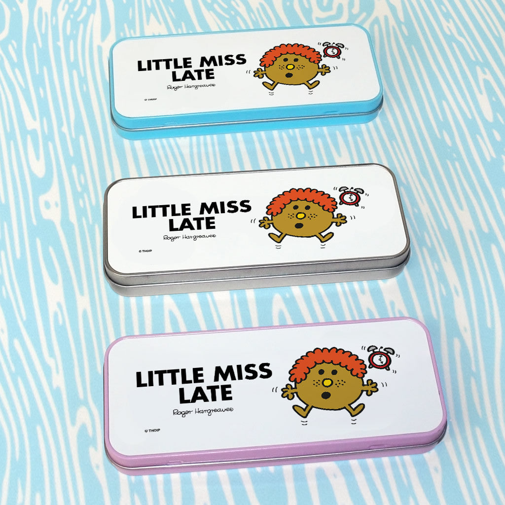 Little Miss Late Pencil Case Tin (Lifestyle)