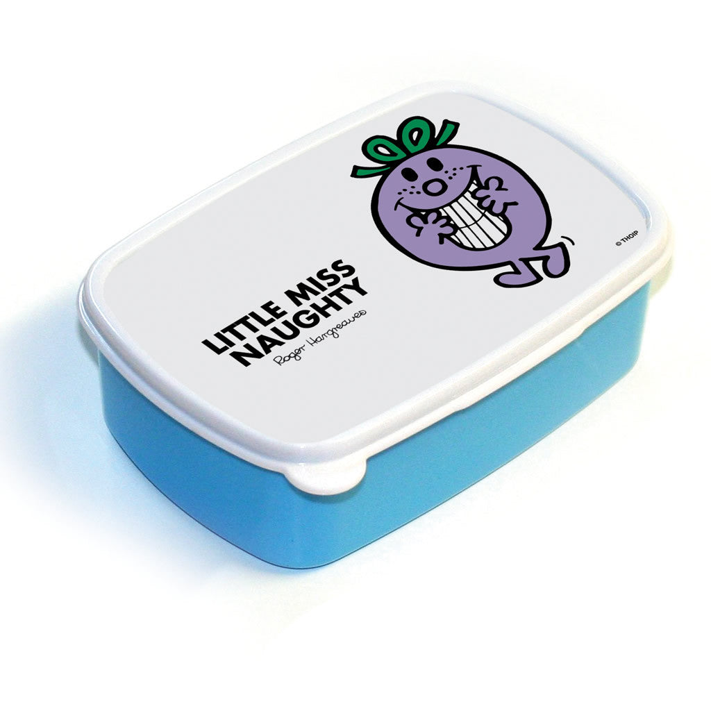 Little Miss Naughty Lunchbox (Blue)