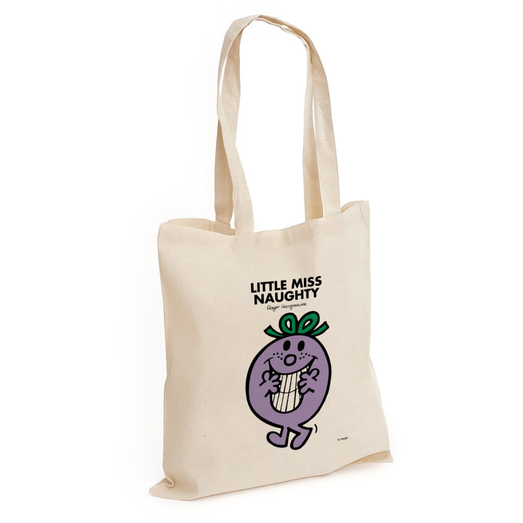 Little Miss Naughty Long Handled Tote Bag
