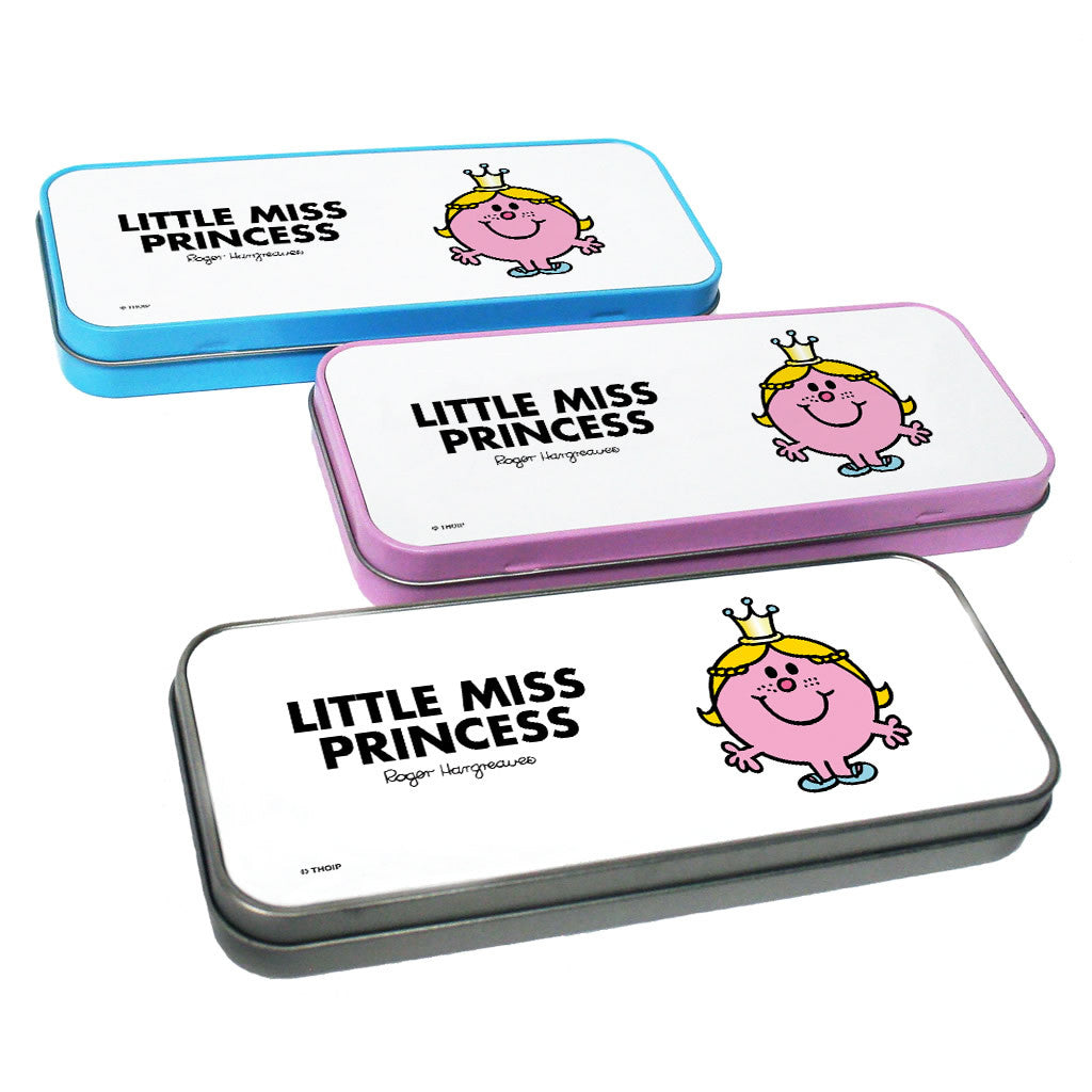 Little Miss Princess Pencil Case Tin