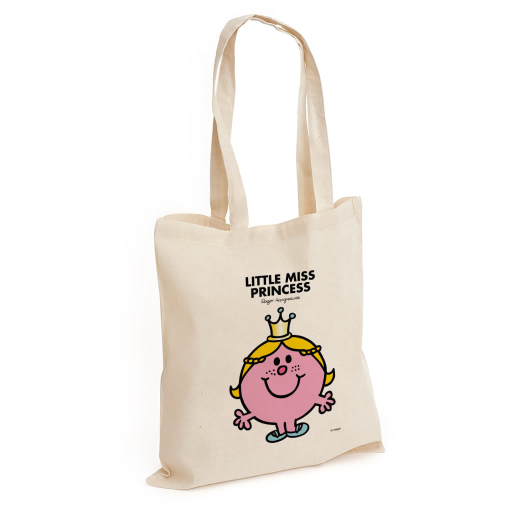 Little Miss Princess Long Handled Tote Bag
