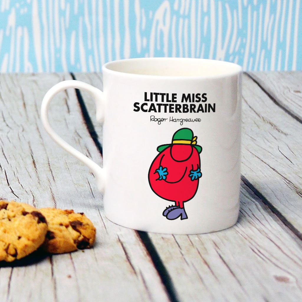Little Miss Scatterbrain Bone China Mug (Lifestyle)
