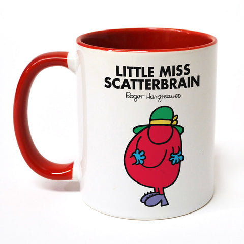 Little Miss Scatterbrain Large Porcelain Colour Handle Mug