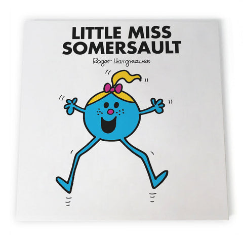 Little Miss Somersault Canvas