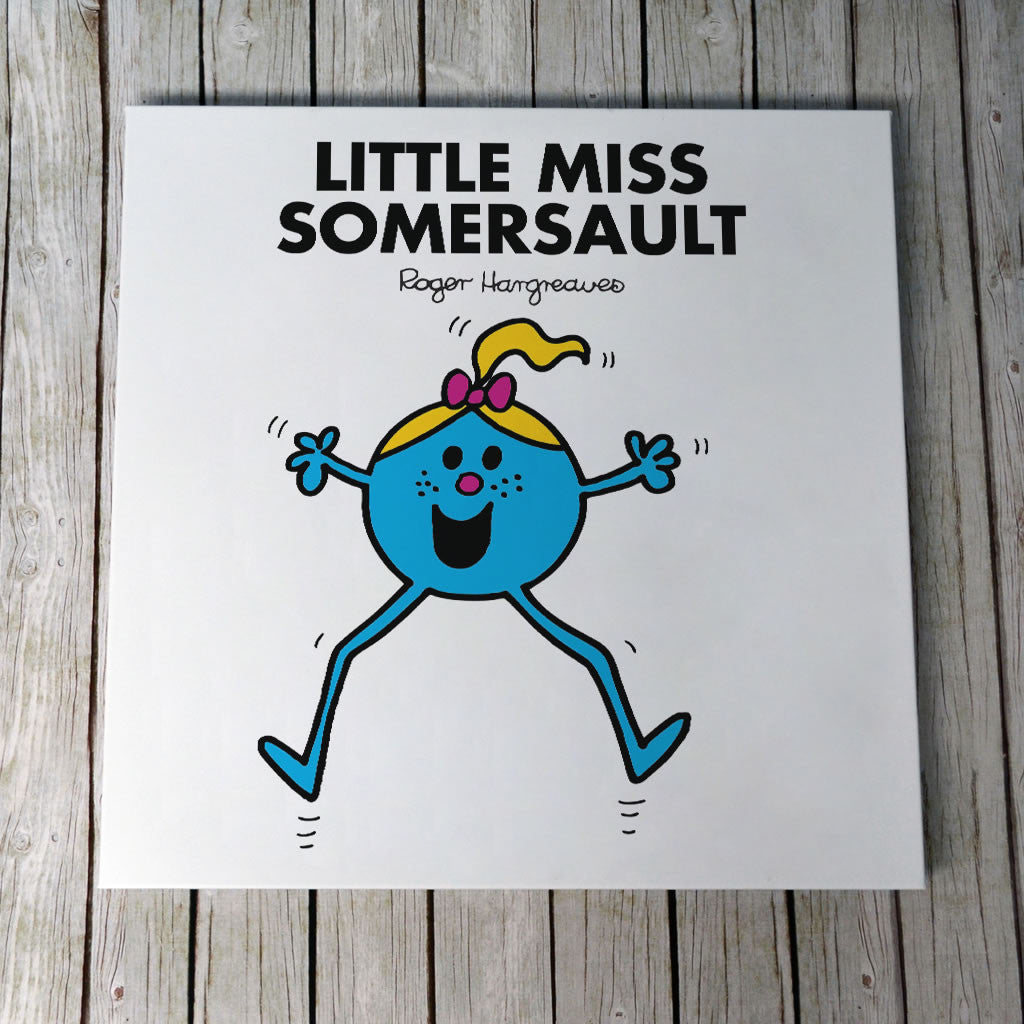 Little Miss Somersault Canvas (Lifestyle)