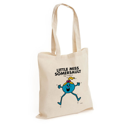 Little Miss Somersault Long Handled Tote Bag
