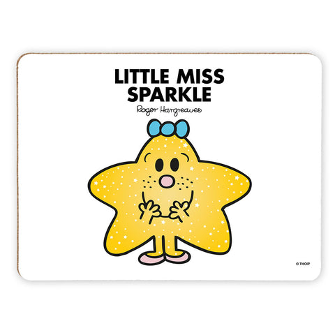 Little Miss Sparkle Cork Placemat