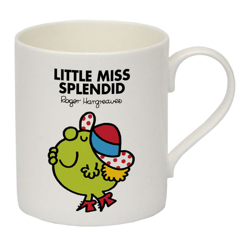 Little Miss Splendid Bone China Mug
