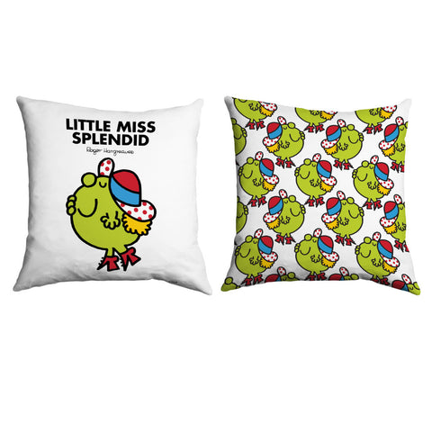 Little Miss Splendid Micro Fibre Cushion