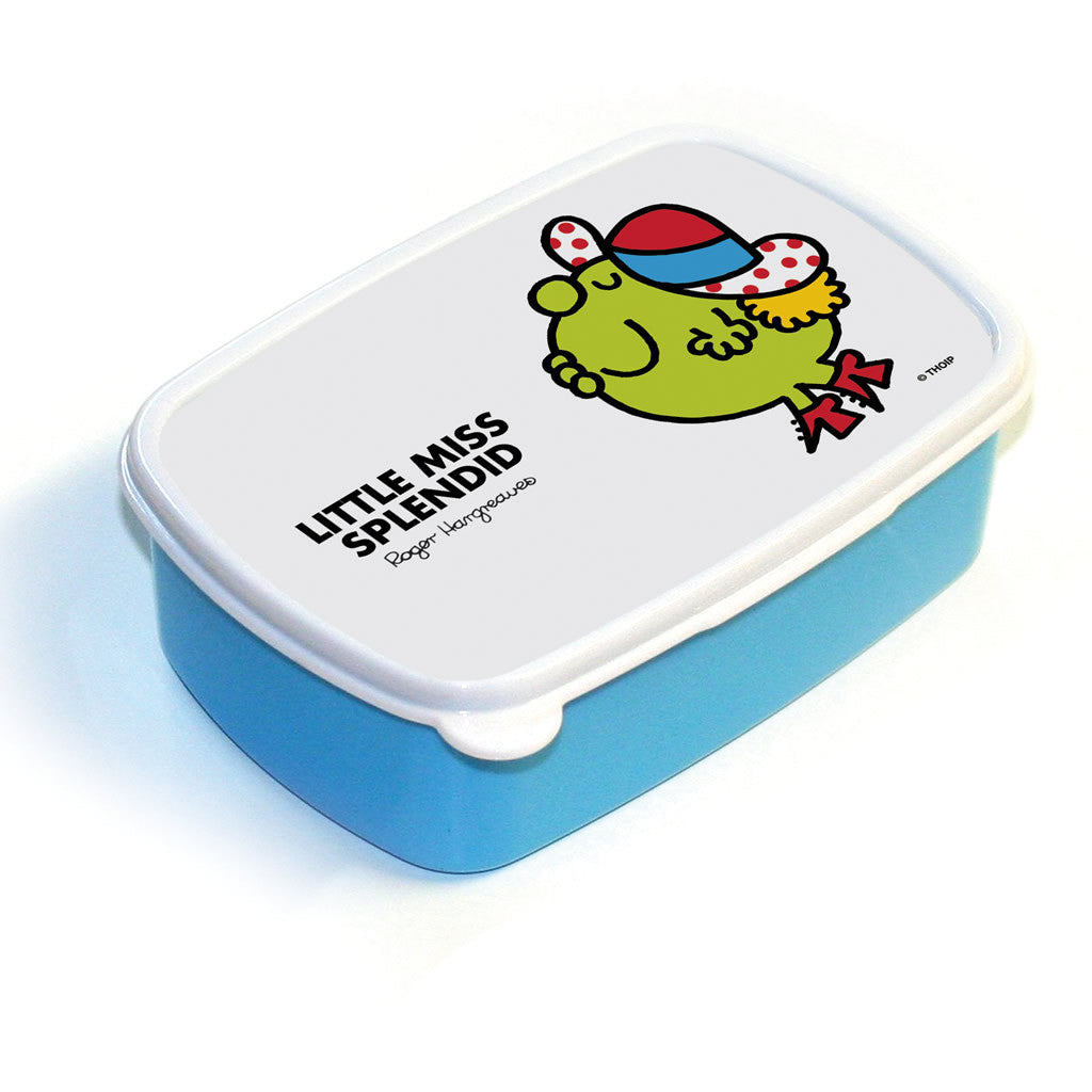 Little Miss Splendid Lunchbox (Blue)