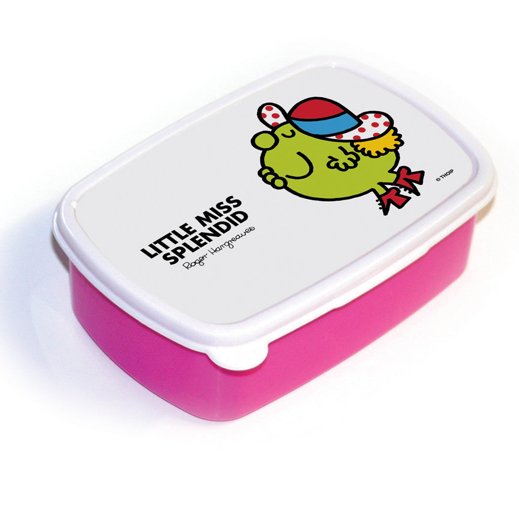 Little Miss Splendid Lunchbox (Pink)