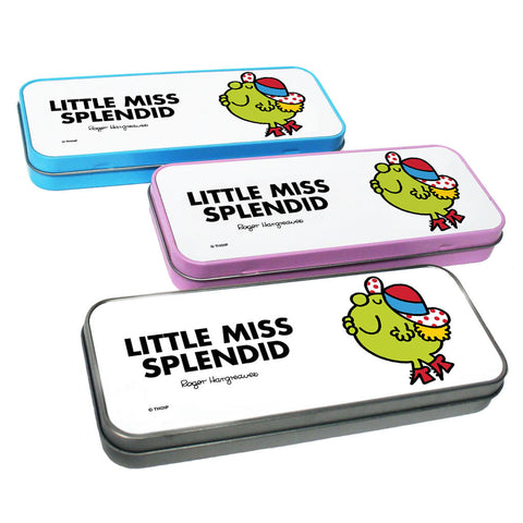 Little Miss Splendid Pencil Case Tin