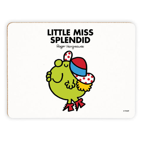 Little Miss Splendid Cork Placemat