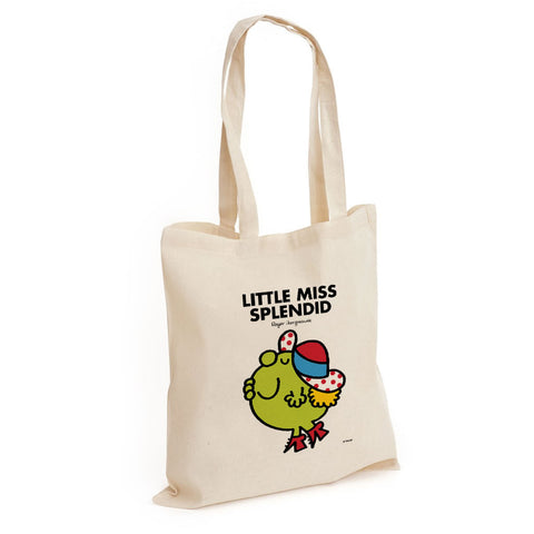 Little Miss Splendid Long Handled Tote Bag