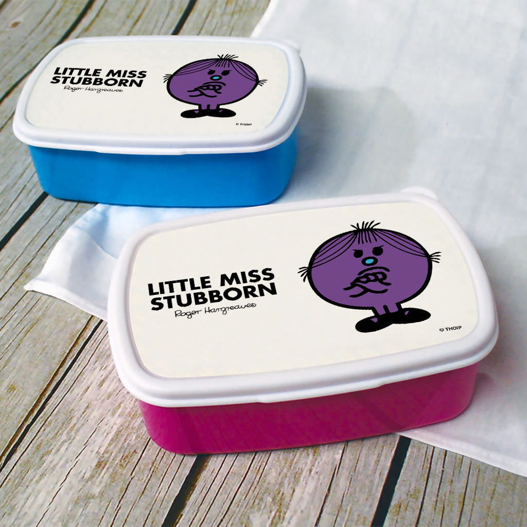 Little Miss Stubborn Lunchbox (Lifestyle)