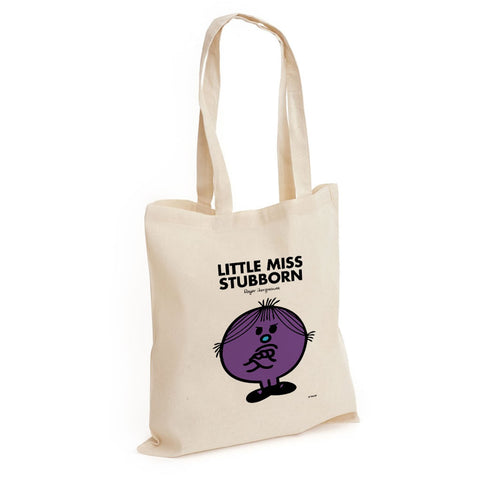 Little Miss Stubborn Long Handled Tote Bag