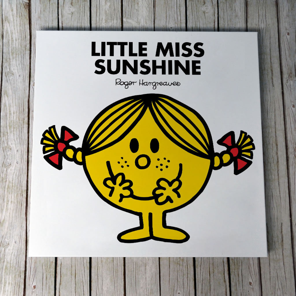 Little Miss Sunshine Canvas (Lifestyle)