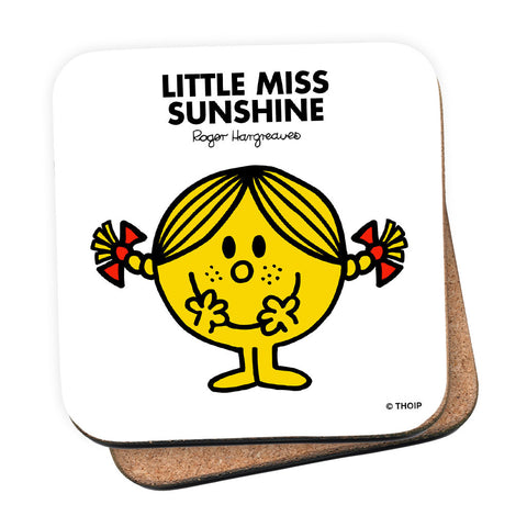 Little Miss Sunshine Cork Coaster