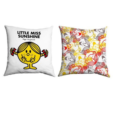 Little Miss Sunshine Micro Fibre Cushion
