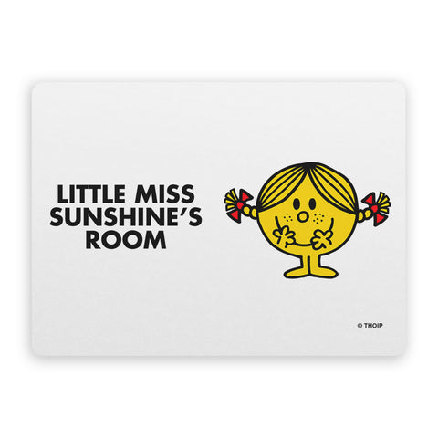Little Miss Sunshine Door Plaque