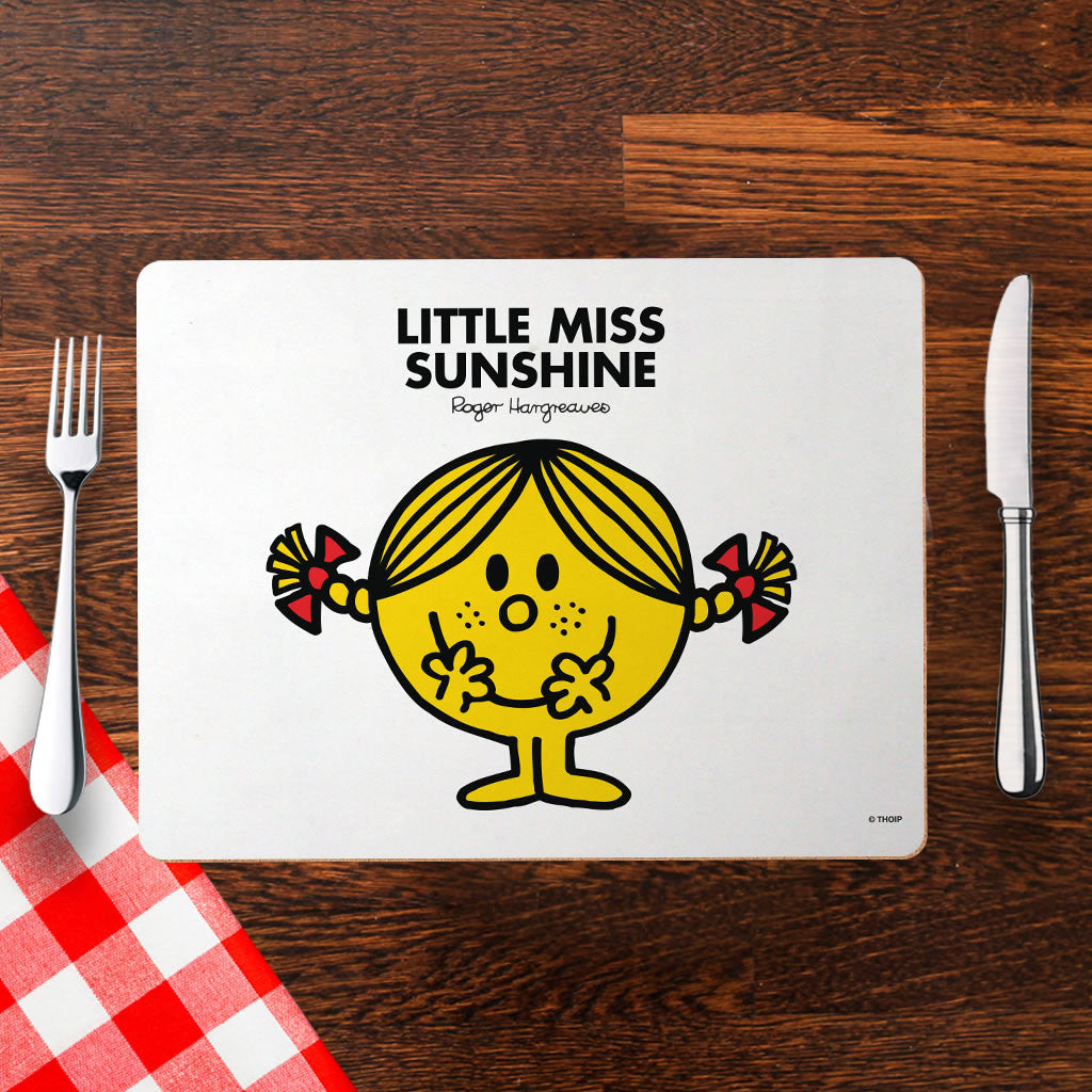 Little Miss Sunshine Cork Placemat (Lifestyle)