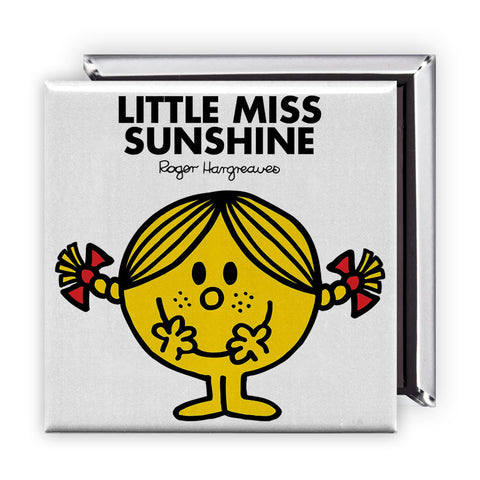 Little Miss Sunshine Square Magnet