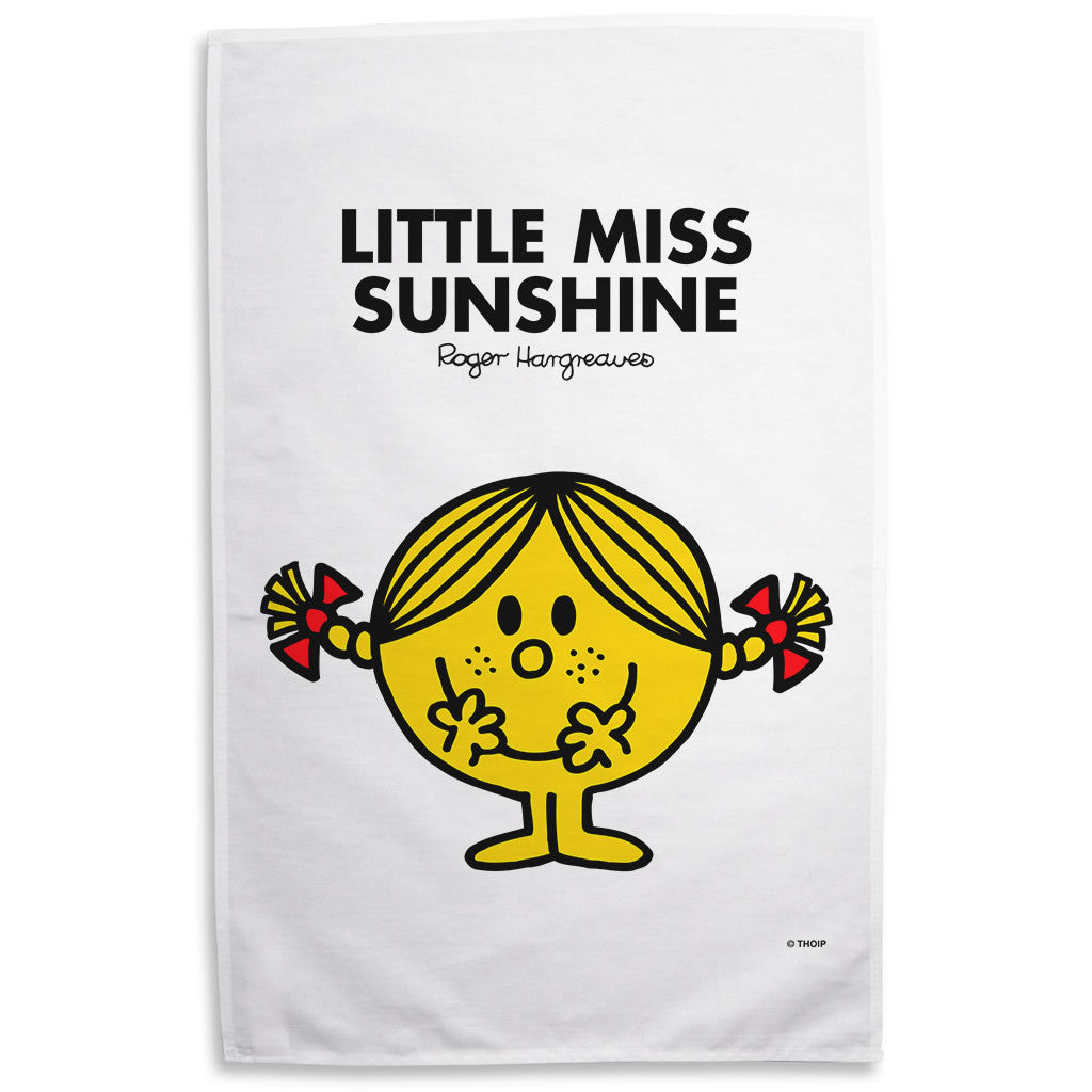 Little Miss Sunshine Tea Towel