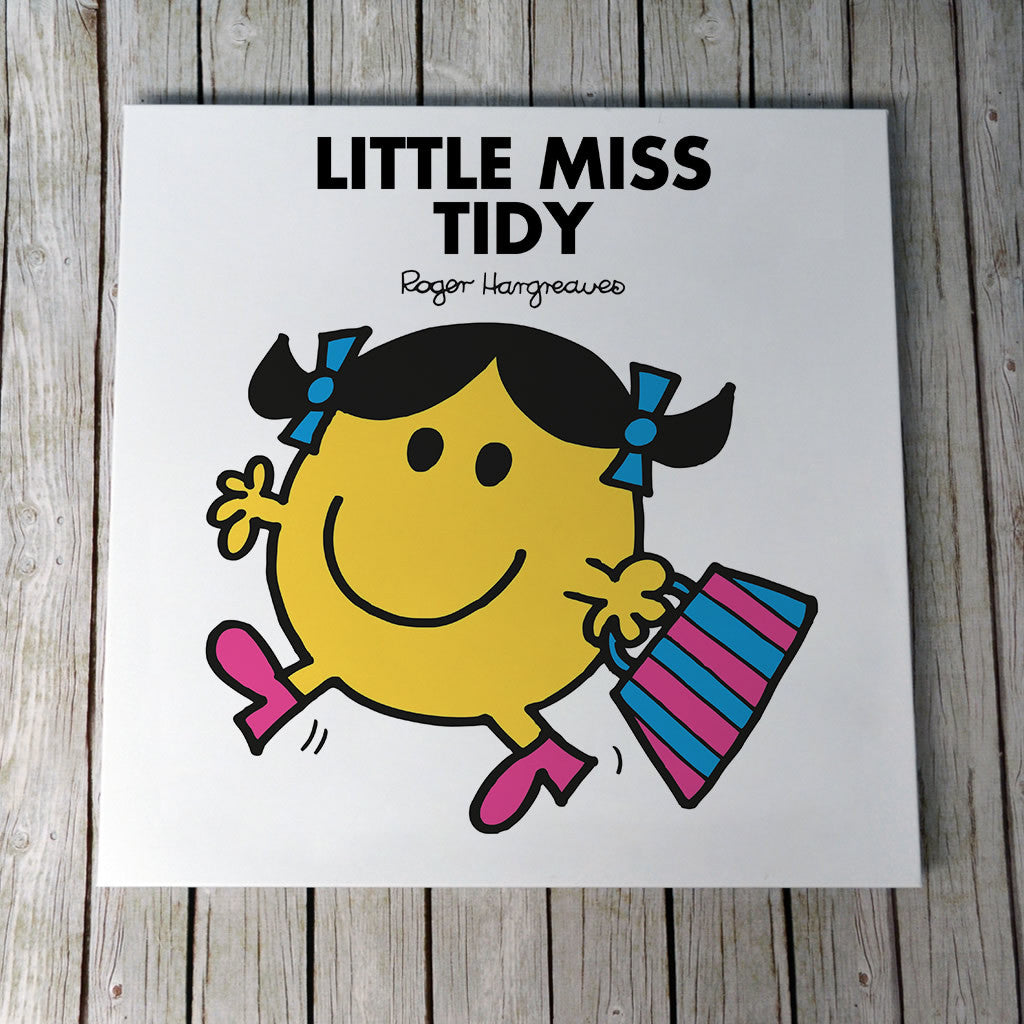 Little Miss Tidy Canvas (Lifestyle)