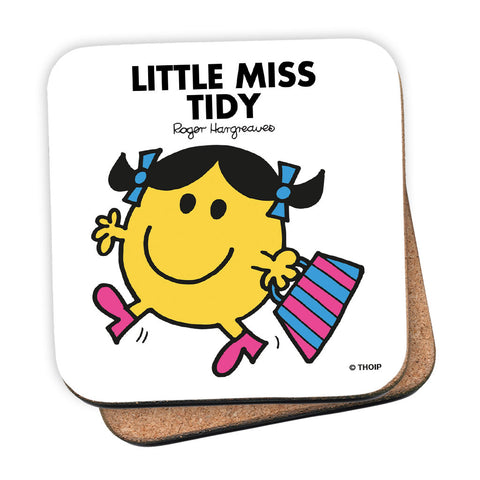 Little Miss Tidy Cork Coaster