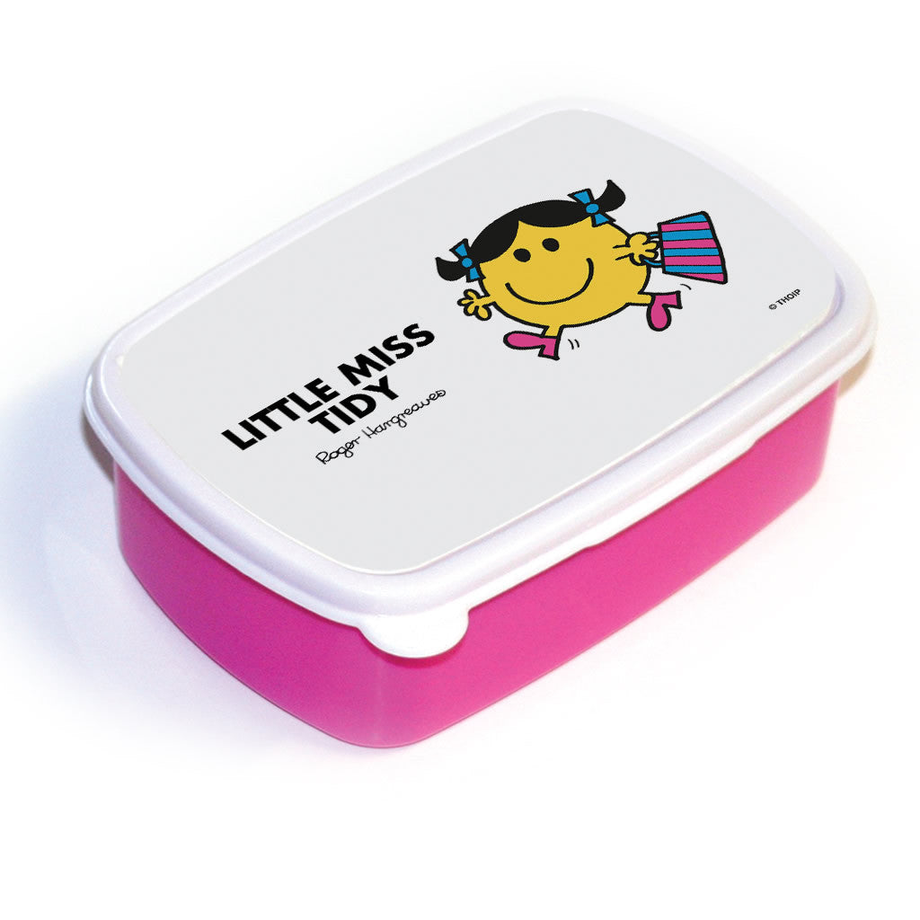 Little Miss Tidy Lunchbox (Pink)