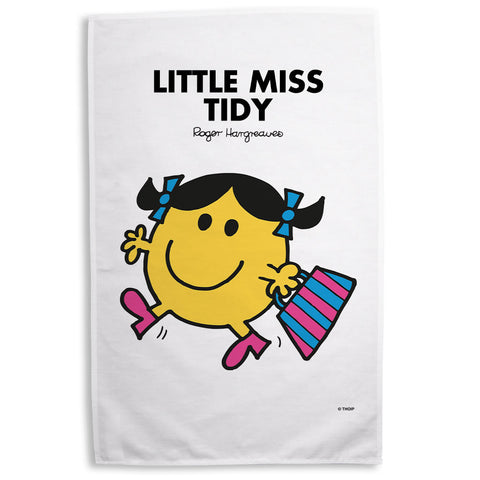 Little Miss Tidy Tea Towel