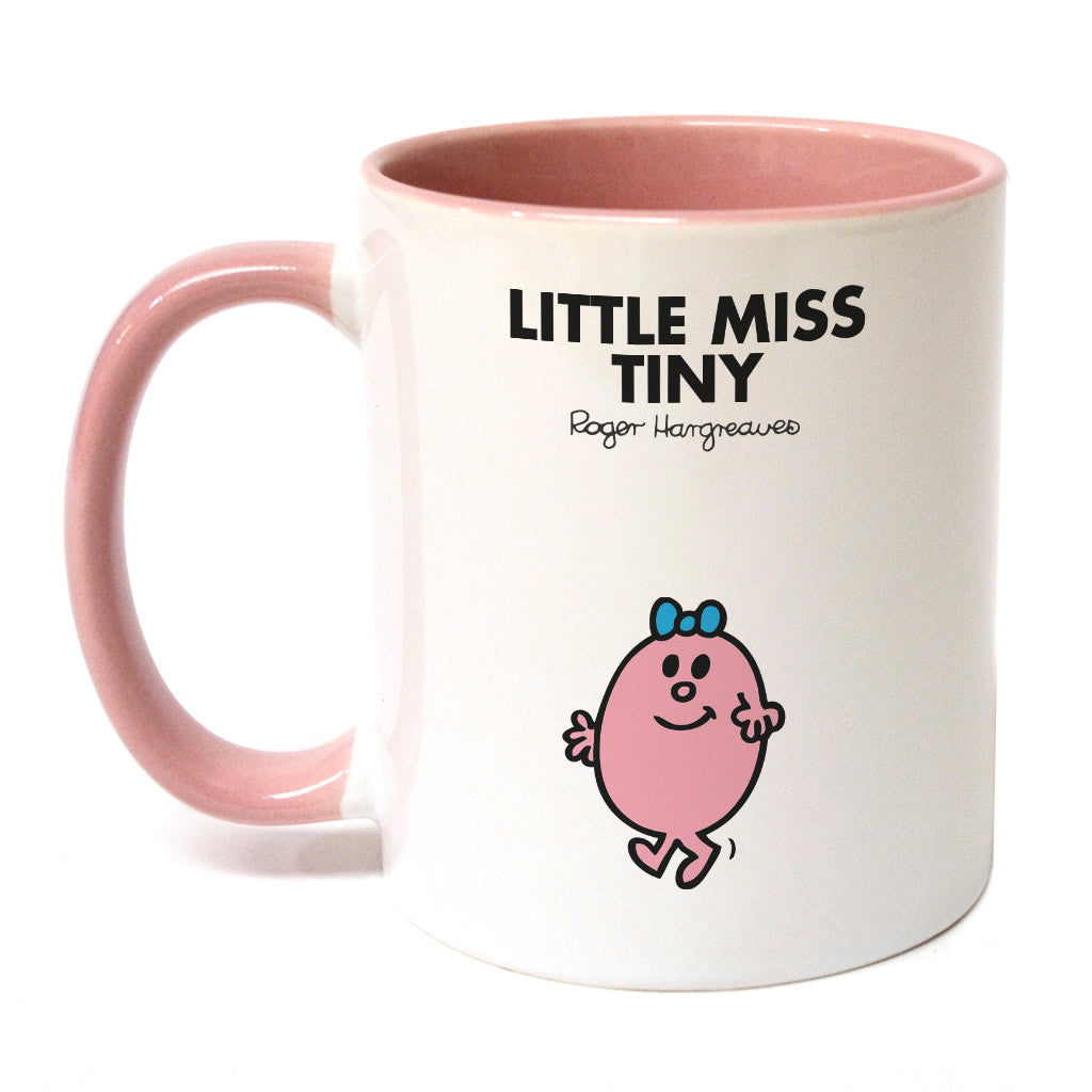 Little Miss Tiny Large Porcelain Colour Handle Mug
