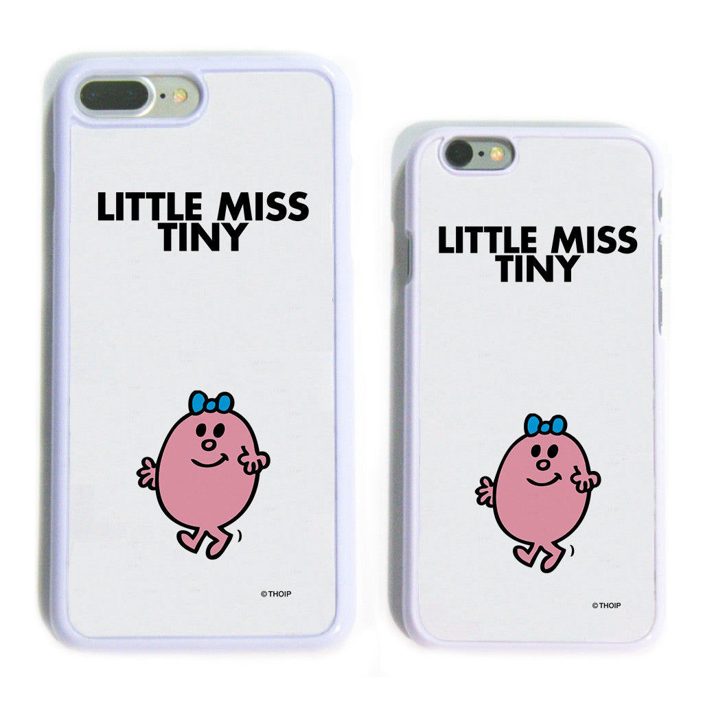 Little Miss Tiny White Phone Case