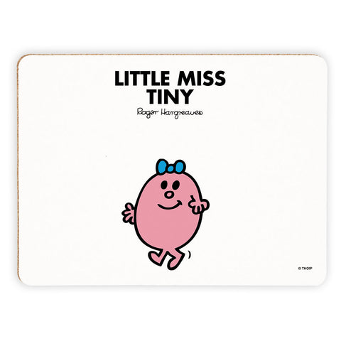 Little Miss Tiny Cork Placemat