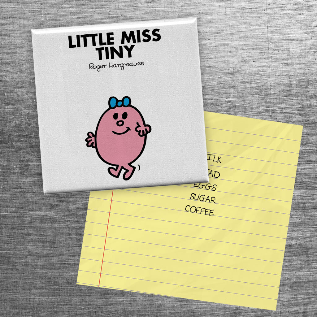 Little Miss Tiny Square Magnet (Lifestyle)
