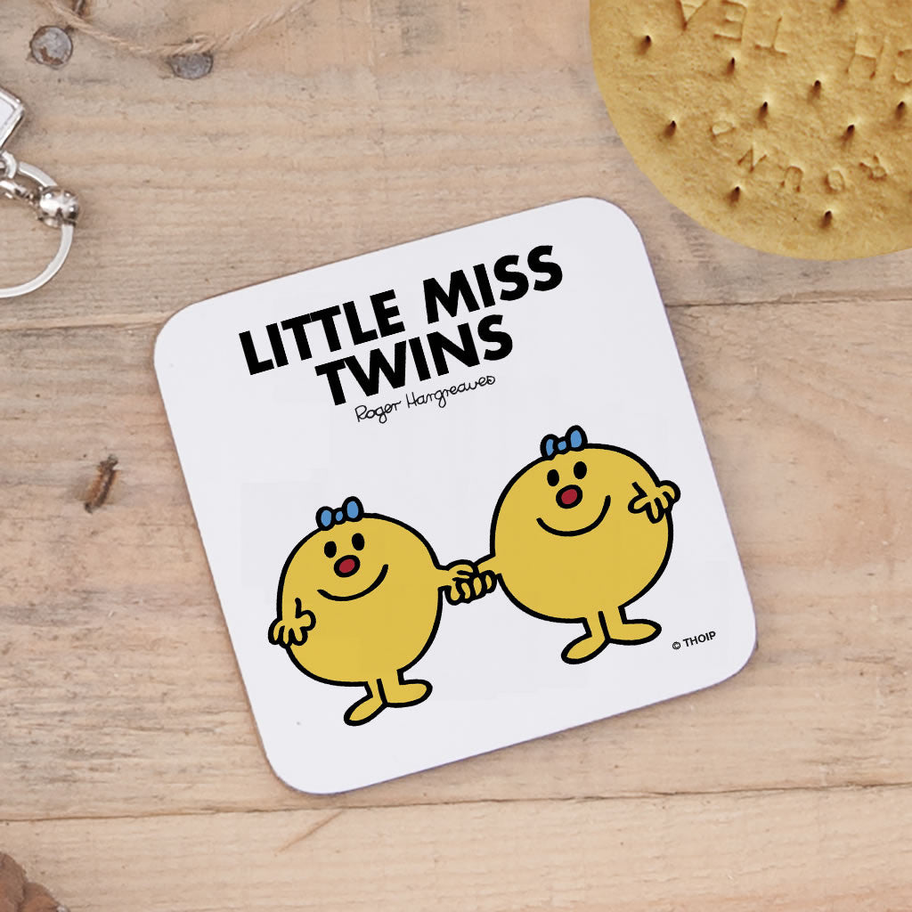 Little Miss Twins Cork Coaster (Lifestyle)