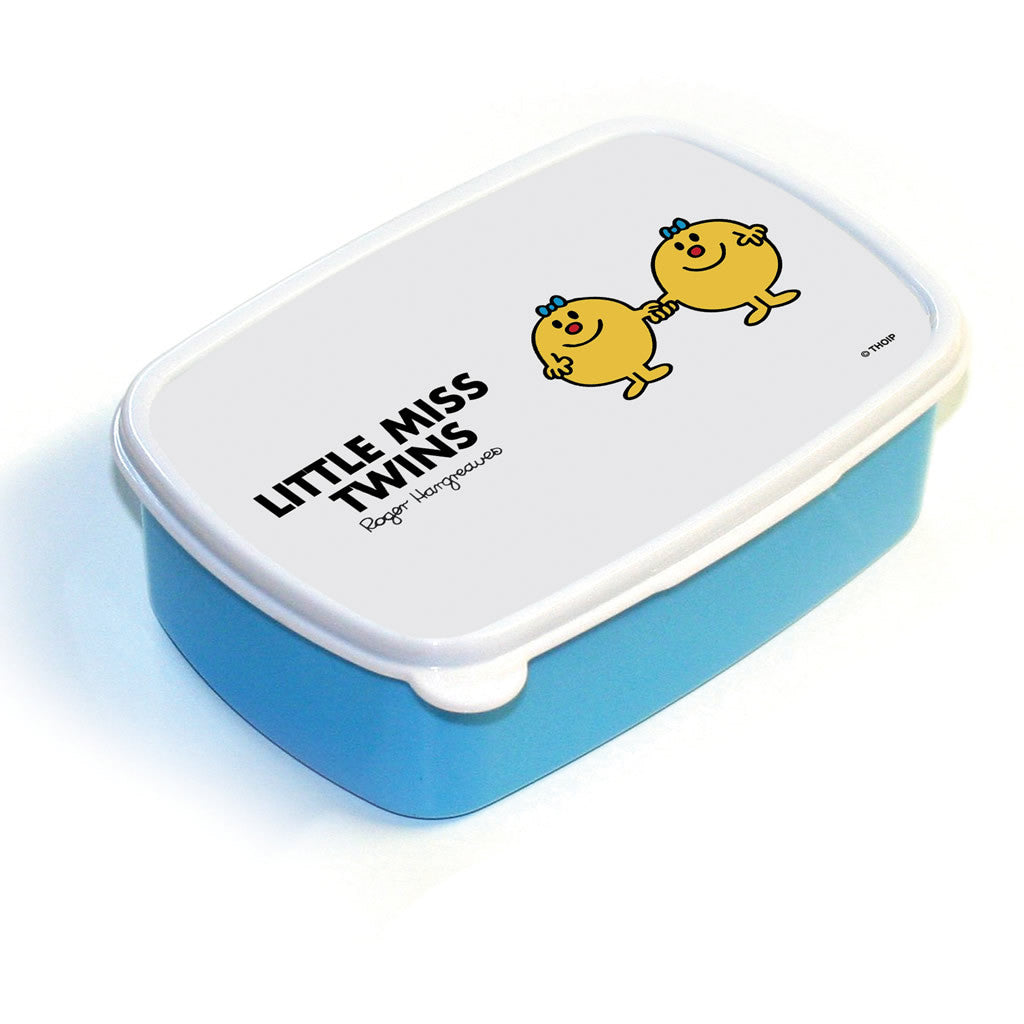 Little Miss Twins Lunchbox (Blue)