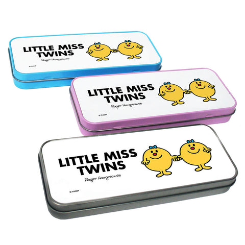 Little Miss Twins Pencil Case Tin