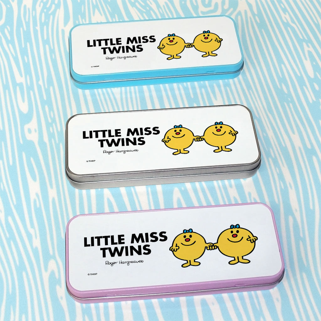 Little Miss Twins Pencil Case Tin (Lifestyle)