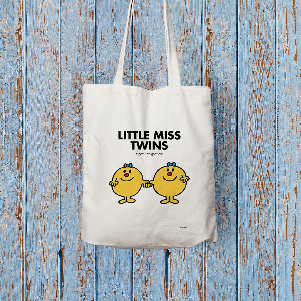 Little Miss Twins Long Handled Tote Bag (Lifestyle)