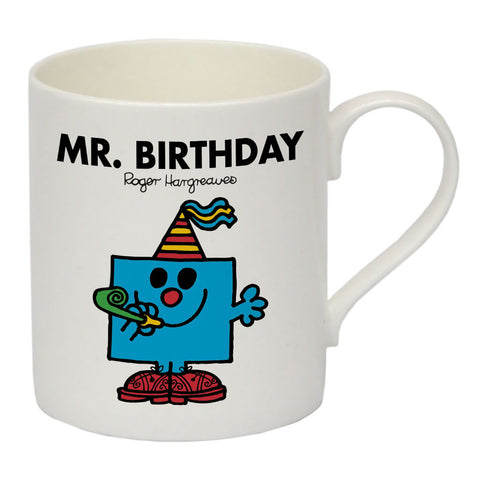 Mr. Birthday Bone China Mug