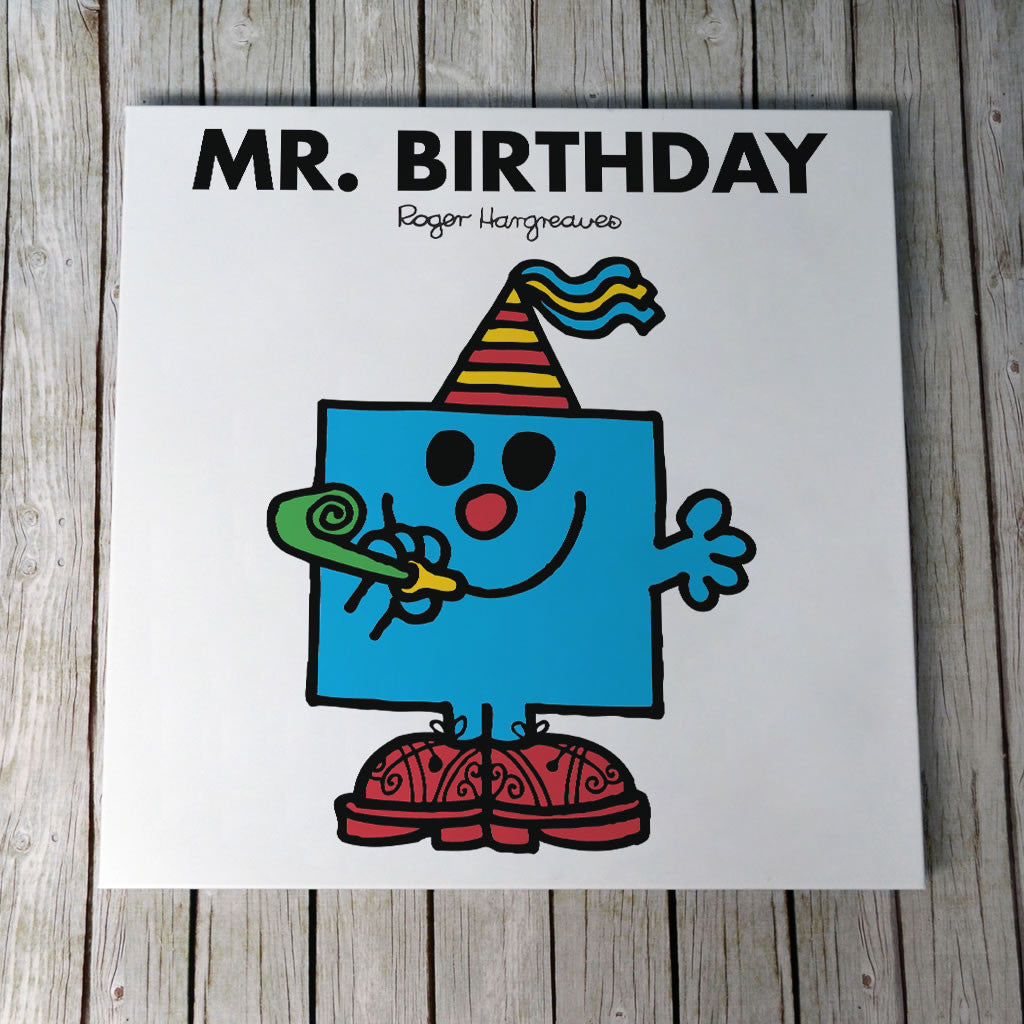 Mr. Birthday Canvas (Lifestyle)