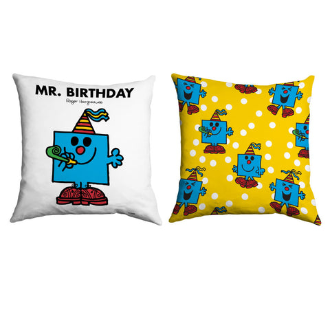 Mr. Birthday Micro Fibre Cushion