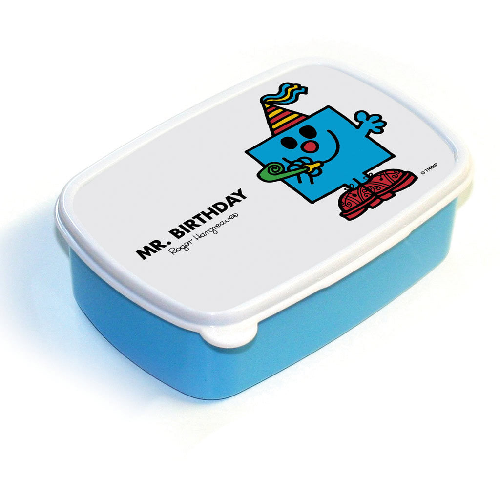 Mr. Birthday Lunchbox (Blue)