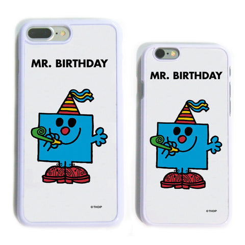 Mr. Birthday White Phone Case
