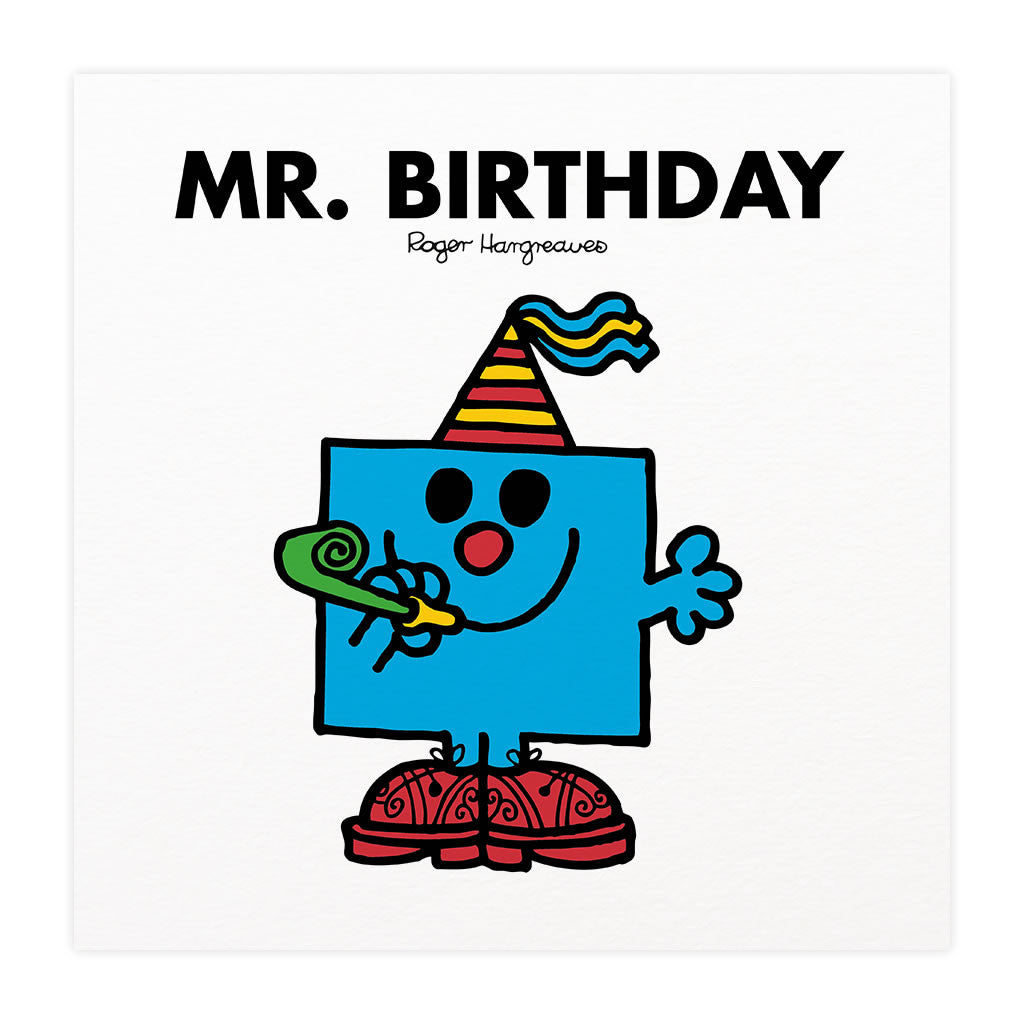 Mr. Birthday Mounted Art Print