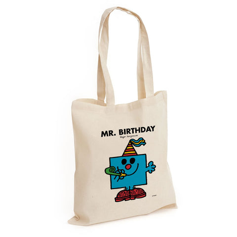 Mr. Birthday Long Handled Tote Bag