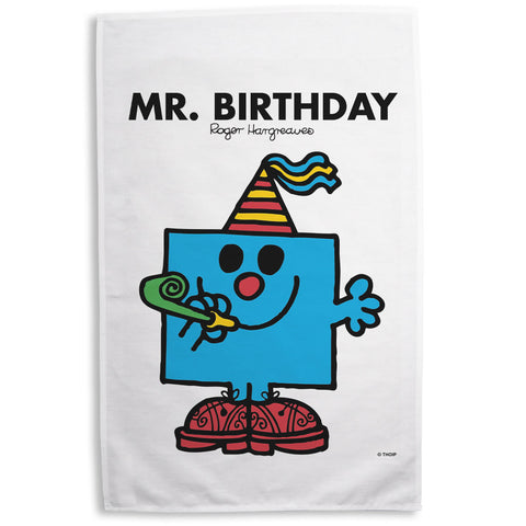 Mr. Birthday Tea Towel