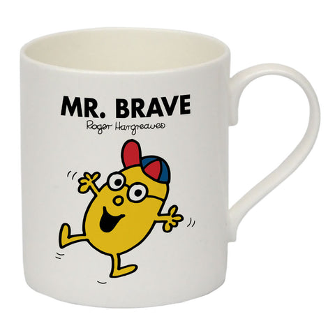 Mr. Brave Bone China Mug