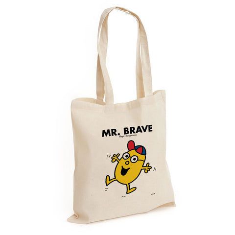 Mr. Brave Long Handled Tote Bag